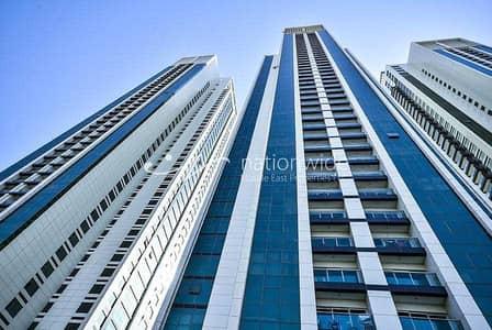 شقة 2 غرفة نوم للايجار في جزيرة الريم، أبوظبي - شقة في مارينا هايتس II مارينا هايتس مارينا سكوير جزيرة الريم 2 غرف 70000 درهم - 5397686