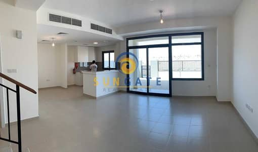 3 Bedroom Villa for Sale in Town Square, Dubai - opposite pool and park Type 1 Tenanted Property