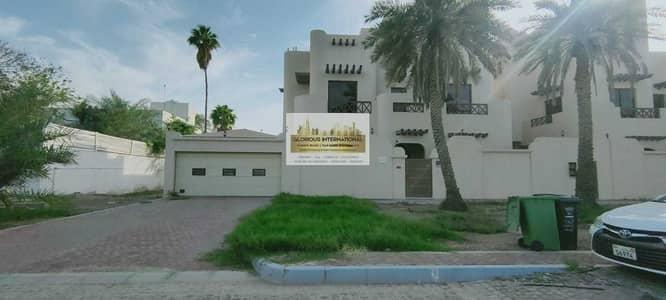 6 Bedroom Villa for Rent in Al Bateen, Abu Dhabi - Very Fantastic w/ Swimming Pool+Driver's RM