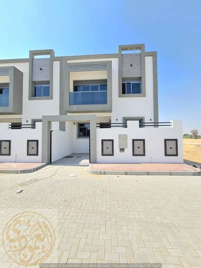 4 Bedroom Villa for Sale in Al Zahya, Ajman - Four-room villa for sale in Al-Zahia, including registration fees, at an excellent price of 850 thousand