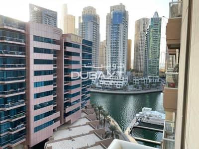 شقة 1 غرفة نوم للايجار في دبي مارينا، دبي - شقة في شراع المارينا دبي مارينا 1 غرف 65000 درهم - 5397892