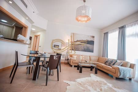 Full Sea view |2BR with Maids room | Unfurnished / Furnished Apt in Shoreline Bldg, Palm Jumeirah