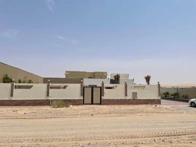 For rent an excellent finishing villa, a large area, close to Maliha Road