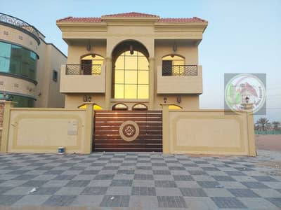 فیلا 5 غرف نوم للبيع في الياسمين، عجمان - فيلا تصميم عربي للبيع فيلا تملك حر لجميع الجنسيات مع امكانية التمويل البنكي