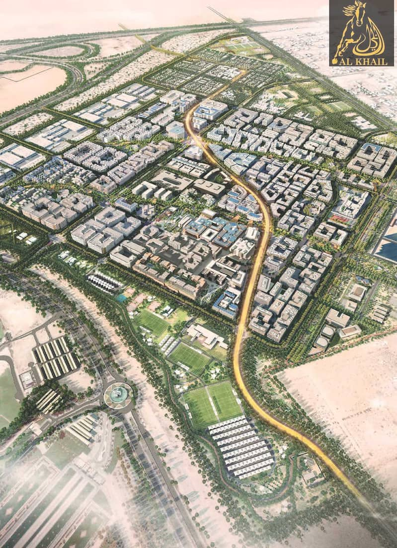 12 Amazing 1BR Duplex in Masdar city with Easy Payment Plan Offer