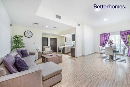 شقة 2 غرفة نوم للبيع في مدينة دبي الرياضية، دبي - Upgraded  Unfurnished   High Floor   Vacant