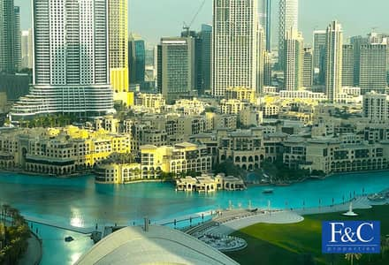 فلیٹ 2 غرفة نوم للبيع في وسط مدينة دبي، دبي - Next to Burj Khalifa | High floor | Best Layout