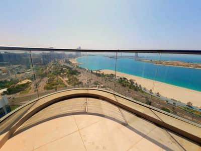 فلیٹ 5 غرف نوم للايجار في منطقة الكورنيش، أبوظبي - شقة في وايف تاور منطقة الكورنيش 5 غرف 240000 درهم - 5398819