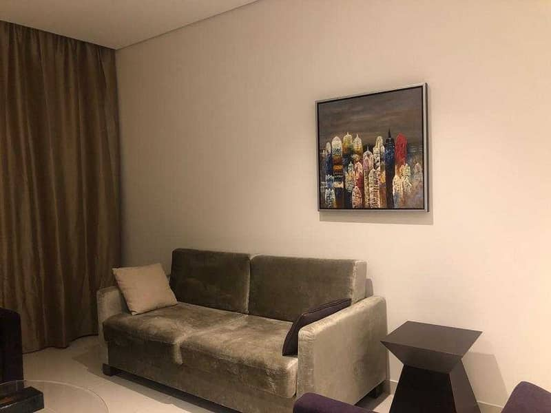 Spacious 2BR, Furnished, Canal View, DAMAC Cour Jardin,