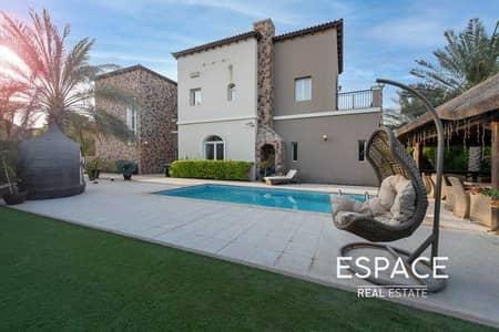 5 Bedroom Villa for Sale in Jumeirah Golf Estates, Dubai - Exclusive | 5 Beds | Corner Plot | Pool