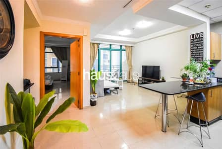 فلیٹ 1 غرفة نوم للبيع في دبي مارينا، دبي - Beautiful 1 bed   Partial palm views