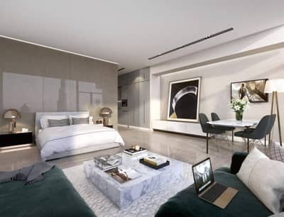 Off-plan Studio in Business Bay with Canal view