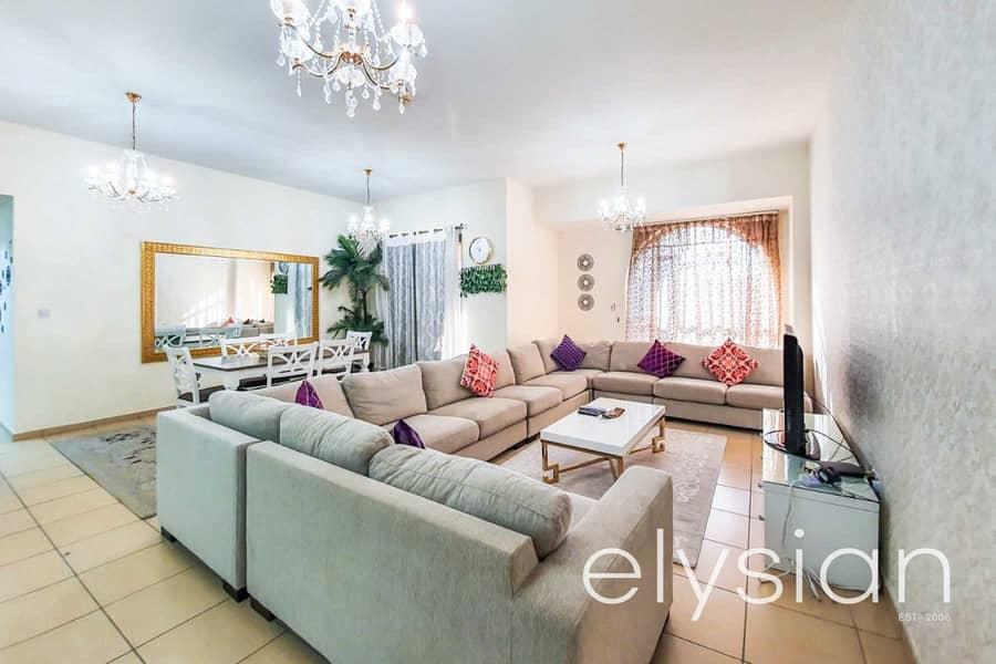 Fully Furnished 3 Bedroom | Low Floor | VOT