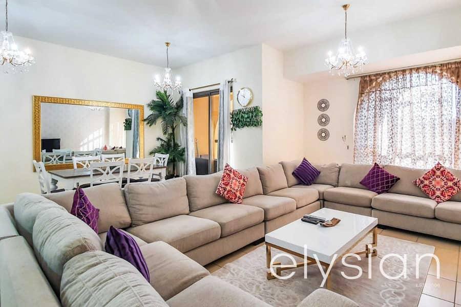 2 Fully Furnished 3 Bedroom | Low Floor | VOT
