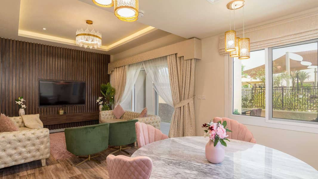 Exclusive Type A with Views over Park and Pool