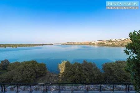 تاون هاوس 3 غرف نوم للايجار في میناء العرب، رأس الخيمة - Full Lagoon View - 3  bedroom - Flamingo - Furnished Villa