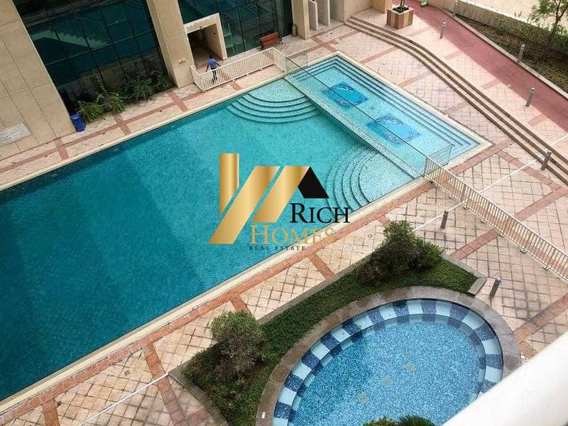 12 Best Deal Specious Apartment/Amazing Pool View/Best location Easy Access with Quite Environment
