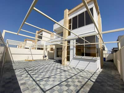4 Bedroom Villa for Sale in Al Amerah, Ajman - Without down payment, own a new villa in Ajman, freehold for all nationalities, excellent location and fully personal finishing on the highway directl