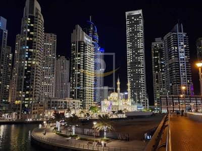 فلیٹ 2 غرفة نوم للايجار في دبي مارينا، دبي - 2B/R Lounge Full Marina View AC and Gas Free Viewing Anytime