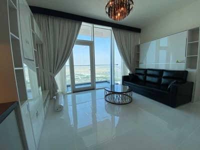 استوديو  للايجار في أرجان، دبي - One Month Free   Miracle Garden View   Very High Floor