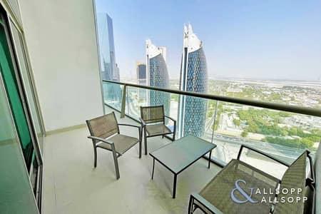 فلیٹ 2 غرفة نوم للايجار في مركز دبي المالي العالمي، دبي - Two Bedroom + Study   Duplex   Balcony