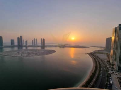 3 Bedroom Apartment for Rent in Al Khan, Sharjah - 3 Bedroom   Vacant   Lake and sea View