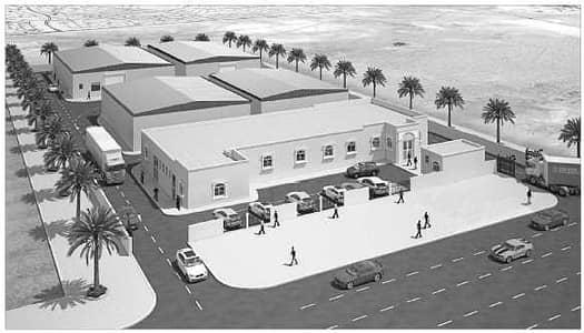 مستودع  للبيع في مصفح، أبوظبي - Under costruction warehouse and office space available .