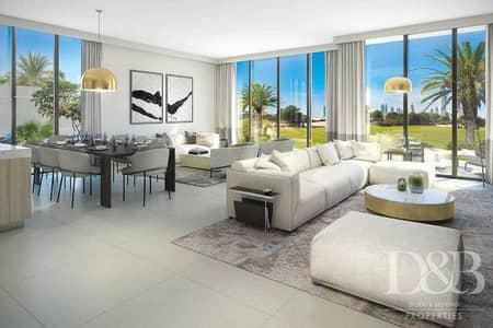 4 Bedroom Townhouse for Sale in Dubai Hills Estate, Dubai - Full Golf Course View   Genuine Resale