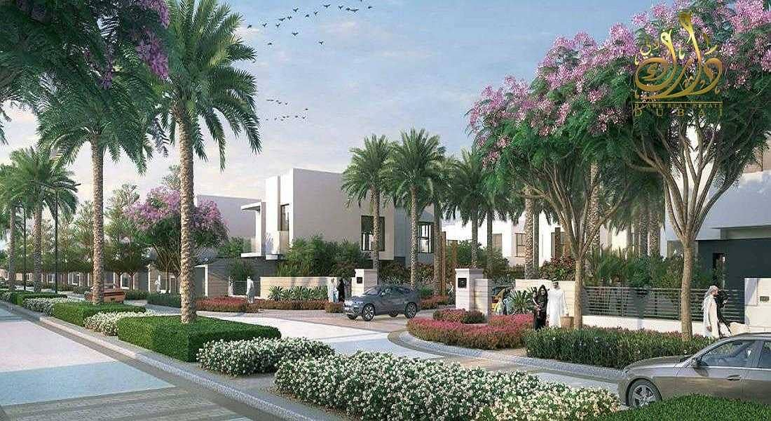 2 luxury villa 5B+maid villa | spacious rooms and garden |best location |5 years payment plan