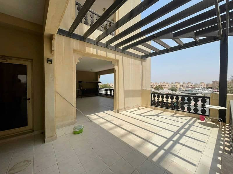 شقة في شقق الحمراء فيليج مارينا قرية الحمراء 3 غرف 70000 درهم - 5336407