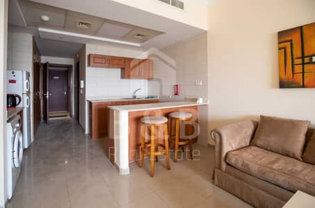 Studio for Rent in Al Hamra Village, Ras Al Khaimah - Nicely Furnished Studio Apartment - Lagoon View