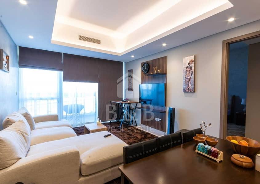 شقة في مساكن جاتواي میناء العرب 1 غرف 730000 درهم - 5217077