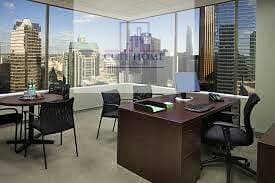 For rent furnishd offices in Brand new business center in Sheikh Zayed Road, all services are free !