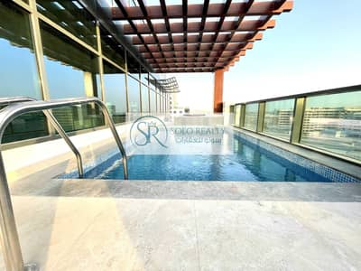 4 Bedroom Penthouse for Rent in Al Raha Beach, Abu Dhabi - Brand New | Fancy Penthouse | Private Pool +Terrace | 4+Maid | Unique View !