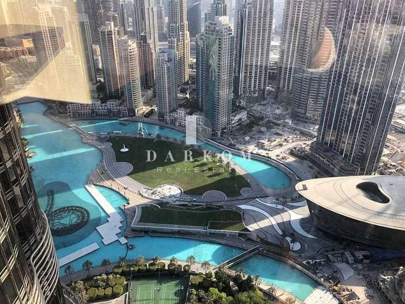 Burj Khalifa Tower | VACANT | 2 BR | Opera View | Unfurnished