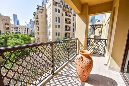 شقة 2 غرفة نوم للبيع في المدينة القديمة، دبي - Genuine Listing! Large 2BR - EnSuite Apartment | Downtown - Excellent Location
