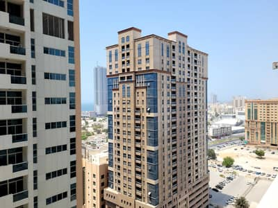 2 Bedroom Flat for Rent in Al Sawan, Ajman - SPACIOUS PARTIAL SEA VIEW  TWO BHK FOR RENT IN AJMAN ONE WITH PARKING T