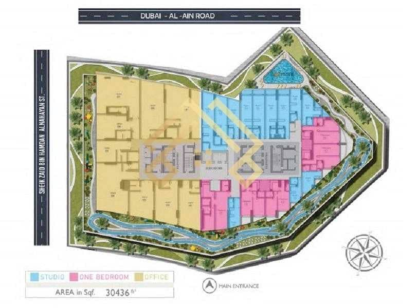 2 AMAZING-APARTMENT l FLEXIBLE PAYMENT PLAN and furnished