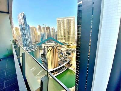 فلیٹ 1 غرفة نوم للايجار في دبي مارينا، دبي - Marina View | 1 BR | High Floor | Unfurnished