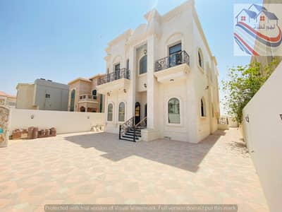 5 Bedroom Villa for Sale in Al Mowaihat, Ajman - One of the most luxurious villas in Ajman, with personal construction and finishing, at the price of a snapshot, with internal roof and personal finis