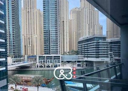 استوديو  للايجار في دبي مارينا، دبي - شقة في برج سيلفرين B برج سيلفرين دبي مارينا 63000 درهم - 5401392