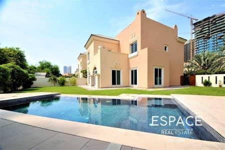 5 Bedroom Villa for Rent in Dubai Sports City, Dubai - C2 Type | Corner Unit | Private Pool