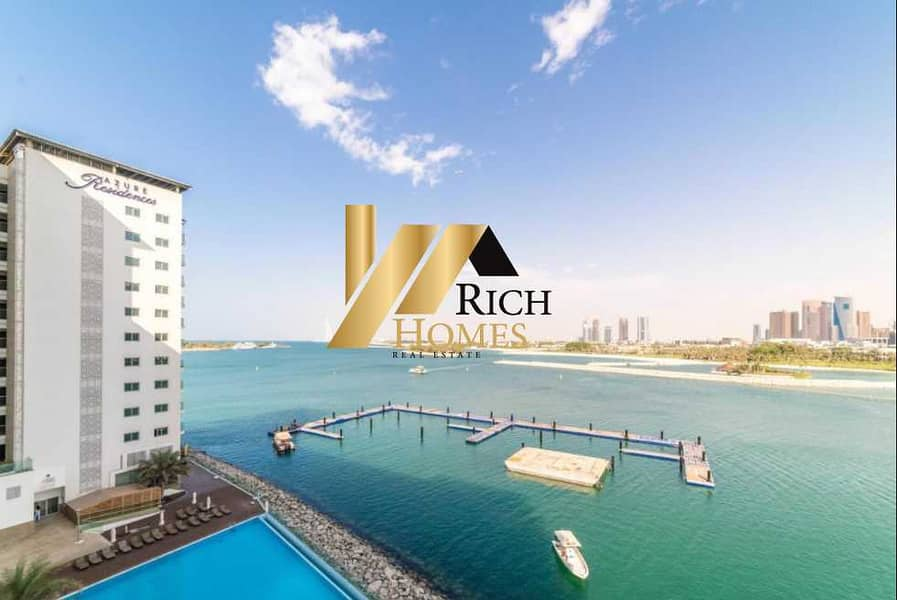 Sea View 1BR Furnished . Direct Beach Access