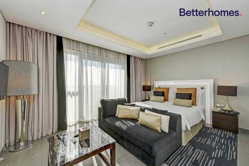 Managed unit   High floor   Furnished