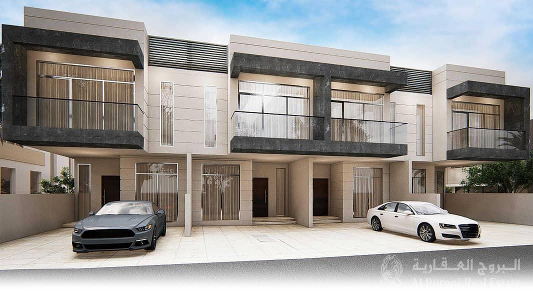 4-BR Luxury Townhouse in Al Furjan