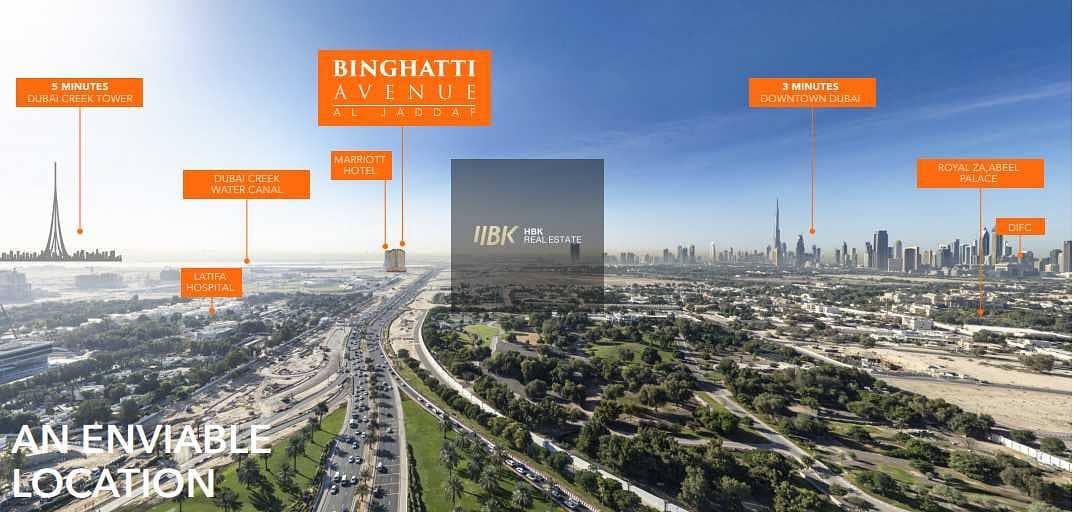 11 Apartment and Townhouses in Al Jaddaf with a special Prices