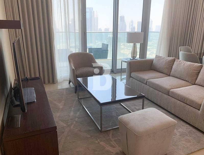 2 Prime Location| Luxurious| Burj View| High Floor