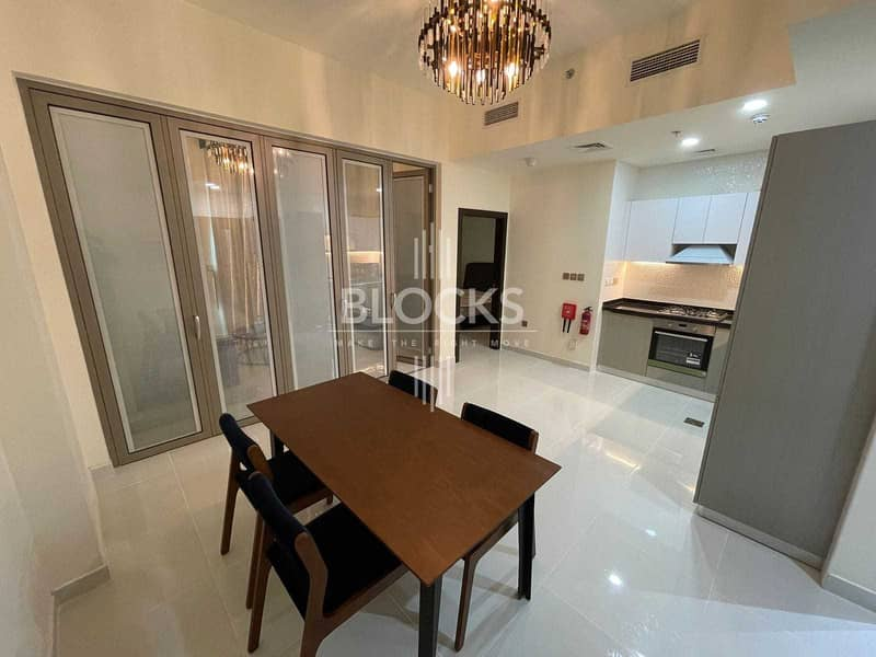 Fully Furnished   High Floor  Convertable to 2 Bed Rooms