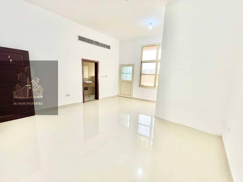 G floor ! huge studio with backyard and parking in al Nahyan