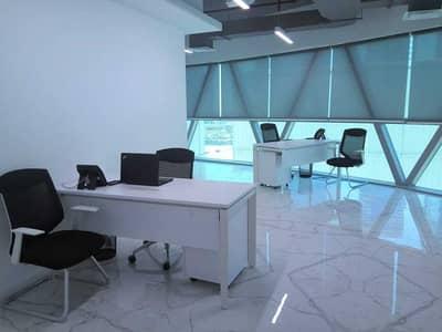 مکتب  للايجار في مركز دبي المالي العالمي، دبي - Furnished Office | Park Tower A | Ready To Move In